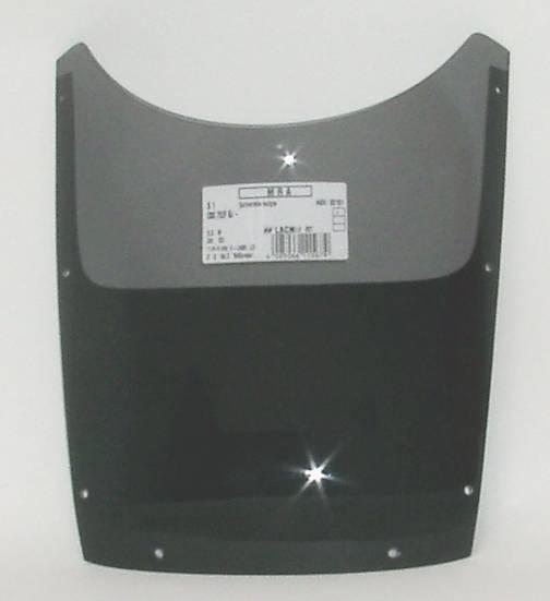 MRA エムアールエー スクリーン スポイラー カラー:ブラック/グラデーション無し CBX750F