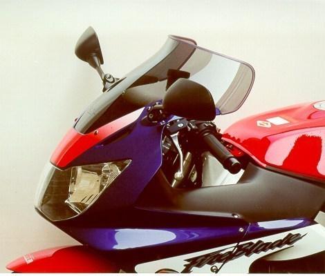 MRA エムアールエー スクリーン スポイラー カラー:ブラック/グラデーション有り CBR900RRファイアーブレード CBR929RRファイアーブレード
