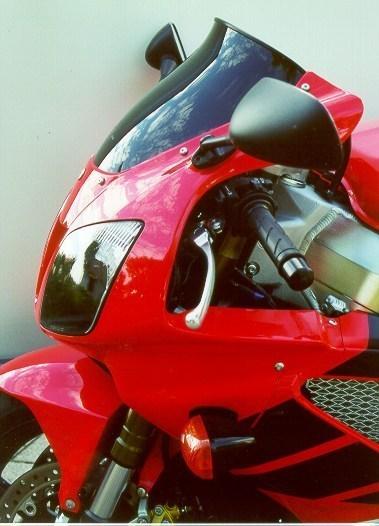 MRA エムアールエー スクリーン スポイラー カラー:ブラック/グラデーション有り VTR1000SP