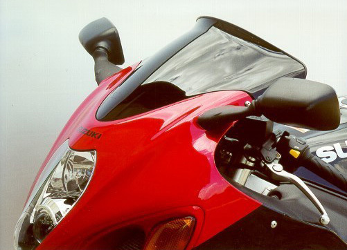 MRA エムアールエー スクリーン スポイラー カラー:クリア/グラデーション有り GSX1300R ハヤブサ(隼)