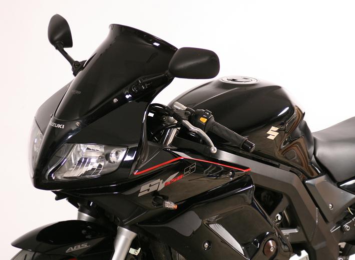 MRA エムアールエー スクリーン スポイラー カラー:ブラック/グラデーション無し SV1000S SV650S