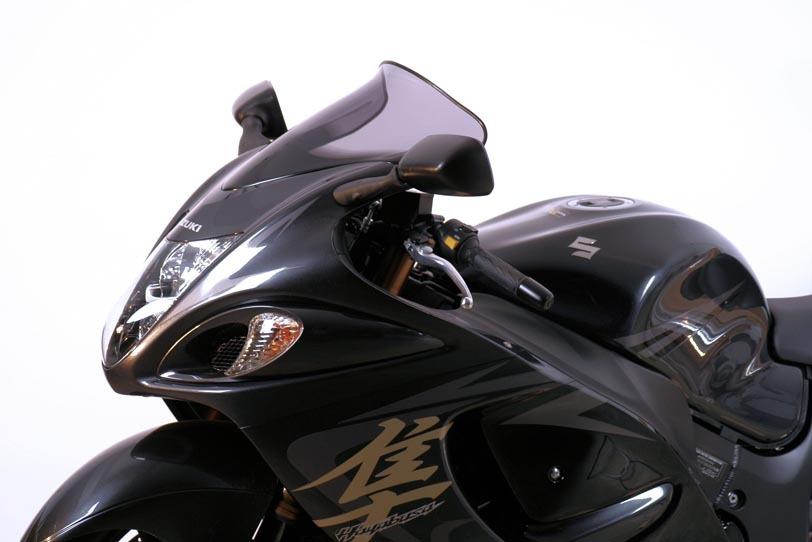 MRA エムアールエー スクリーン スポイラー カラー:ブラック/グラデーション無し GSX1300R ハヤブサ(隼)