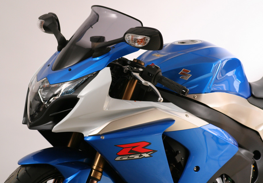 MRA エムアールエー スクリーン スポイラー カラー:スモーク/グラデーション有り GSX-R1000