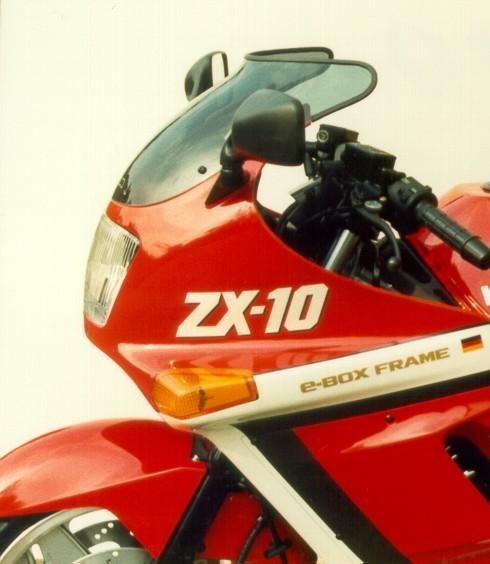 MRA エムアールエー スクリーン スポイラー カラー:ブラック/グラデーション無し ZX-10