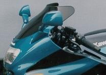 MRA エムアールエー スクリーン スポイラー カラー:ブラック/グラデーション無し ZZR1100/ZX-11