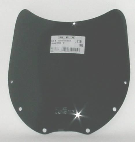 MRA エムアールエー スクリーン スポイラー カラー:ブラック/グラデーション無し ZZR600