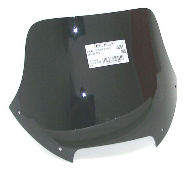 MRA エムアールエー スクリーン スポイラー カラー:ブラック/グラデーション無し F650 F650ST