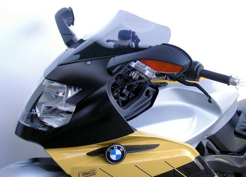 MRA エムアールエー スクリーン スポイラー カラー:ブラック/グラデーション無し K1200S K1300S
