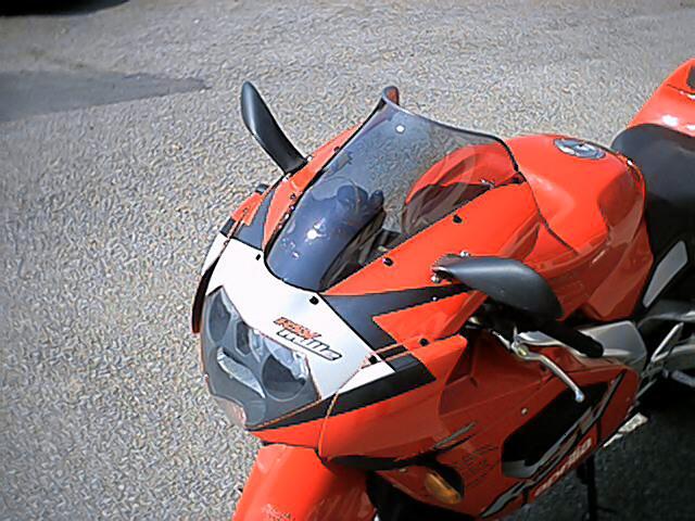 MRA エムアールエー スクリーン スポイラー RSV1000 RSV1000