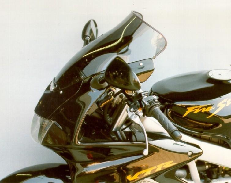 MRA エムアールエー スクリーン ツーリング カラー:ブラック/グラデーション有り VTR1000Fファイアストーム