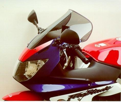 MRA エムアールエー スクリーン ツーリング カラー:ブラック/グラデーション有り CBR900RRファイアーブレード CBR929RRファイアーブレード