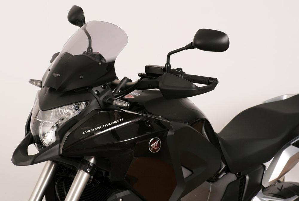MRA エムアールエー スクリーン ツーリング カラー:ブラック/グラデーション無し VFR1200X CROSSTOURER[クロスツアラー]