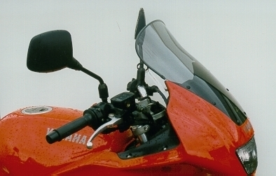 MRA エムアールエー スクリーン ツーリング カラー:ブラック/グラデーション無し TDM850 ディバージョン600