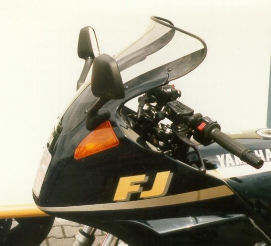 MRA エムアールエー スクリーン ツーリング カラー:スモーク/グラデーション有り FJ1200