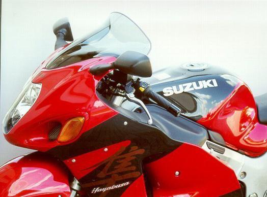 MRA エムアールエー スクリーン ツーリング カラー:ブラック/グラデーション無し GSX1300R ハヤブサ(隼)