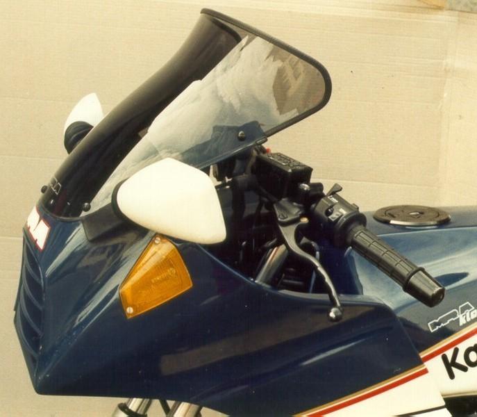 MRA エムアールエー スクリーン ツーリング カラー:ブラック/グラデーション無し GPZ750R GPZ900R