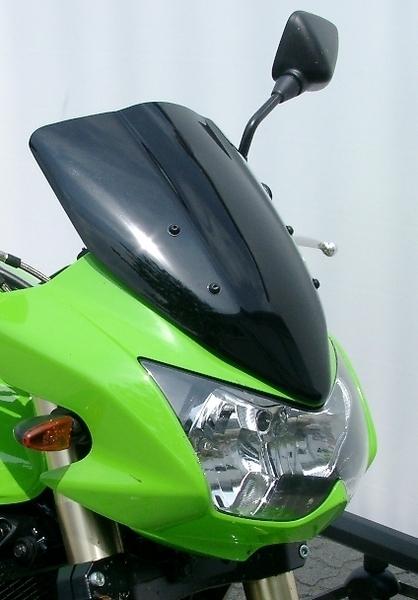 MRA エムアールエー スクリーン ツーリング カラー:ブラック/グラデーション無し KLE500 Z1000 (水冷)