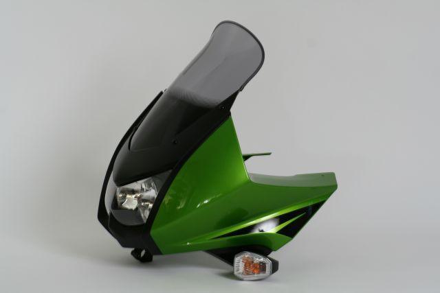 MRA エムアールエー スクリーン ツーリング カラー:クリア/グラデーション有り KLR650