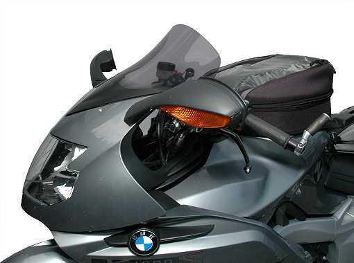 MRA エムアールエー スクリーン ツーリング カラー:ブラック/グラデーション無し K1200S K1300S