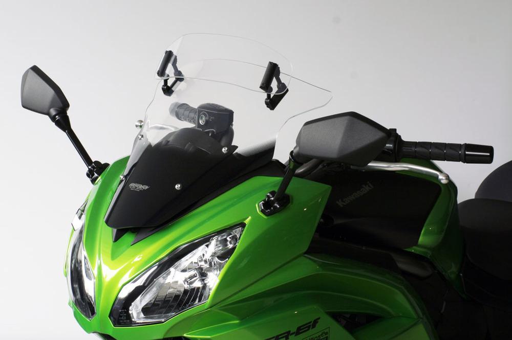 MRA エムアールエー ヴァリオ (VARIO) ツーリング スクリーン【スクリーンキャンペーン】 Ninja 650 ニンジャ400 (2014-)