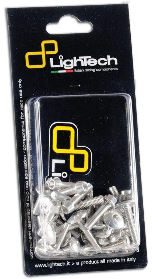 LighTech ライテック 汎用外装部品・ドレスアップパーツ ボルトキット エンジン用 カラー:シルバー NUDA900/900R