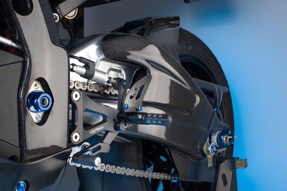 LighTech ライテック カーボンパーツ HONDA用 フロントマッドガード CB1000R 08-16