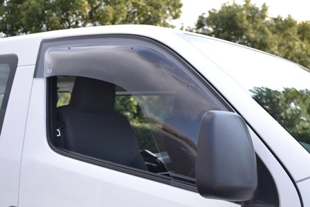 オグショー OGUshow トランポ用品 【ブランド:ZOO project】OXバイザー ベイシック タイプ:手動格納式ミラー装着車用 NV350キャラバン