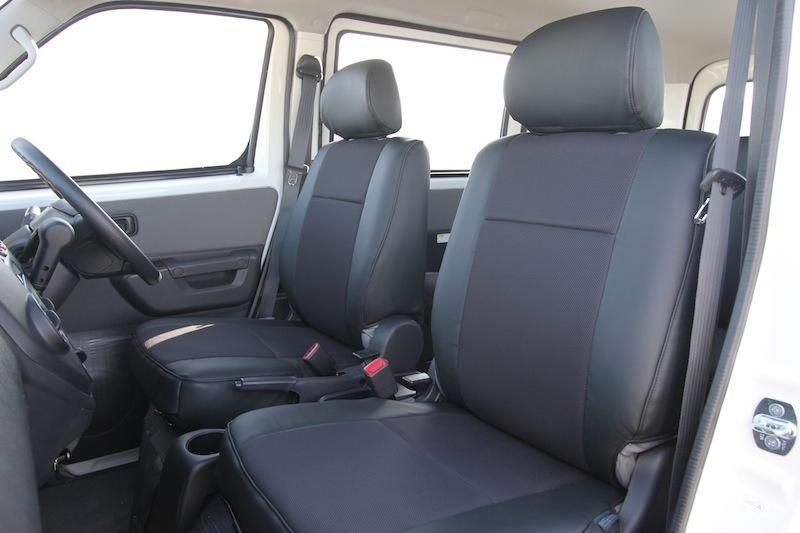 オグショー OGUshow トランポ用品 タウンエース/ライトエース用 ESシートカバー タイプ:フロント席ヘッドレスト分離式/1台分セット/ブラックレザーのみ タウンエース/ライトエース S400M系