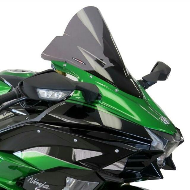 ODAX オダックス POWER BRONZE スポーツ・エアフロースクリーン カラー:ライトスモーク ニンジャ H2 SX