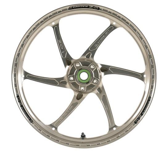OZレーシング ホイール本体 GASS RS-A アルミ鍛造ホイール カラー:チタンアルマイト ゼファー1100