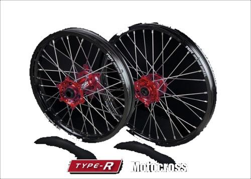 大きな取引 TGRテクニクスギア ホイール本体 TYPE-R Motocross(モトクロス)用ホイール(前後セット) 【オプション】DID 強ST-Xリム:リアのみ ニップルカラー:シルバー(ノーマル品) ハブカラー:レッド(HONDA COLOR), くまの焼酎屋 fb3d573f