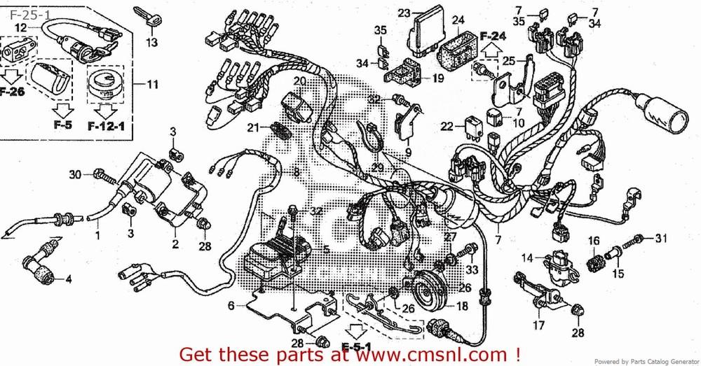 CMS シーエムエス インジェクション関連 UNIT COMP PGM-FI/ C50BN (8) AA01-170 JAPAN (JDM)