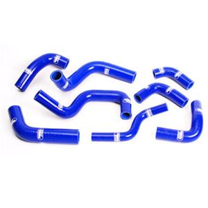 SAMCO SPORT サムコスポーツ ラジエーター関連部品 クーラントホース(ラジエーターホース) カラー:ライトニングブルーカモ (限定色) 748 R 2000-2002