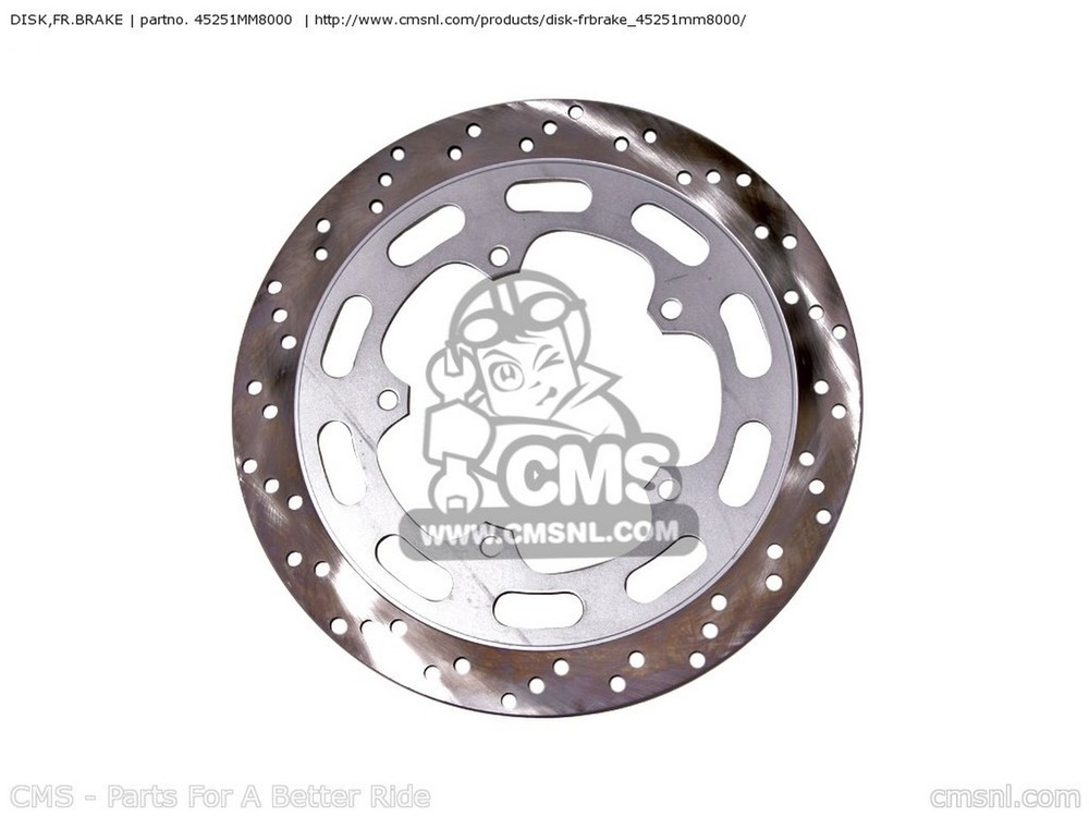 CMS シーエムエス ディスクローター DISK,FR.BRAKE VT1100C SHADOW 1100 2000 (Y) USA