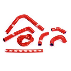 SAMCO SPORT サムコスポーツ ラジエーター関連部品 クーラントホース(ラジエーターホース) カラー:ニンジャグリーンカモ (限定色) CR 250 R 2002-2012