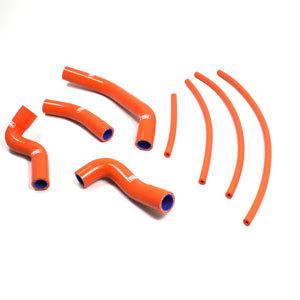 SAMCO SPORT サムコスポーツ ラジエーター関連部品 クーラントホース(ラジエーターホース) カラー:レッド (限定色) 390 RC OEM 2014-2017
