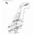 CMS シーエムエス その他エンジンパーツ Kick Shaft Ratchet KZ900