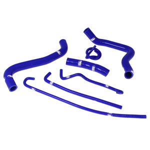 SAMCO SPORT サムコスポーツ ラジエーター関連部品 クーラントホース(ラジエーターホース) カラー:ライトニングブルーカモ (限定色) GSXR 1000 K5 05-06 GSXR 1000 K6 05-06