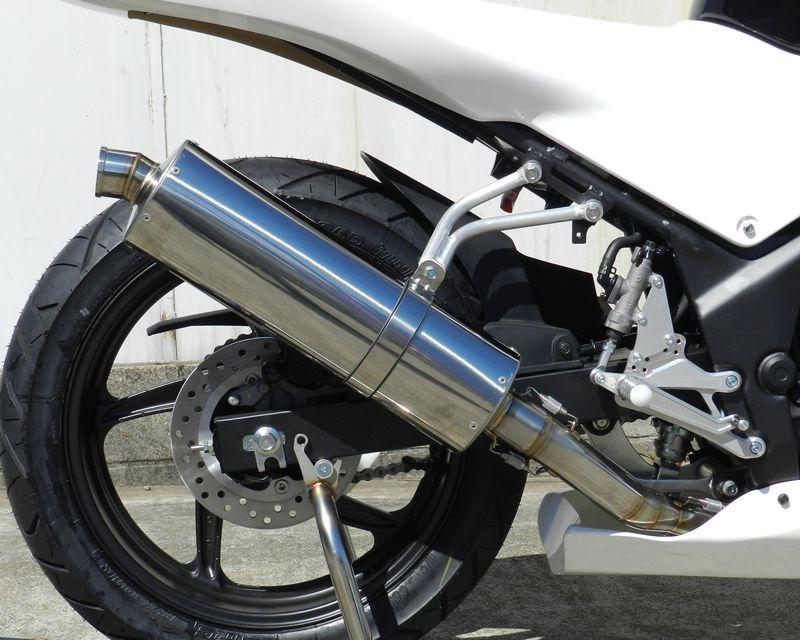 バトルファクトリー BATTLE FACTORY スリップオンマフラーセット CBR250R (2011-)