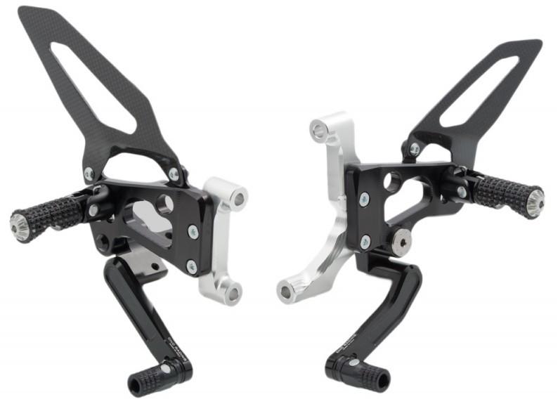 CNC Racing CNCレーシング バックステップ 可変式ステップキット カラー:ブラック 899Panigale Panigale [パニガーレ]