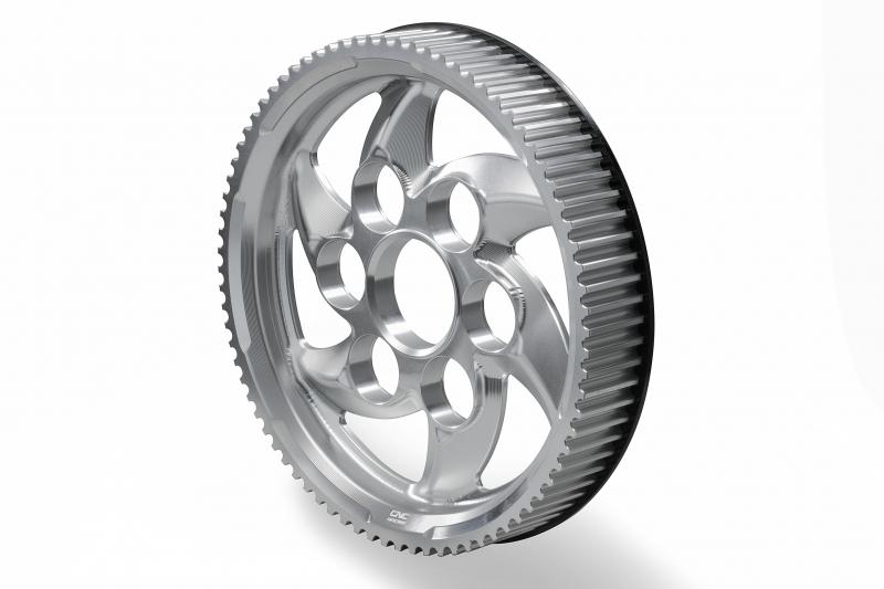 CNC Racing CNCレーシング プーリー関連 リアプーリー DUCATI XDIAVEL カラー:シルバー XDiavel