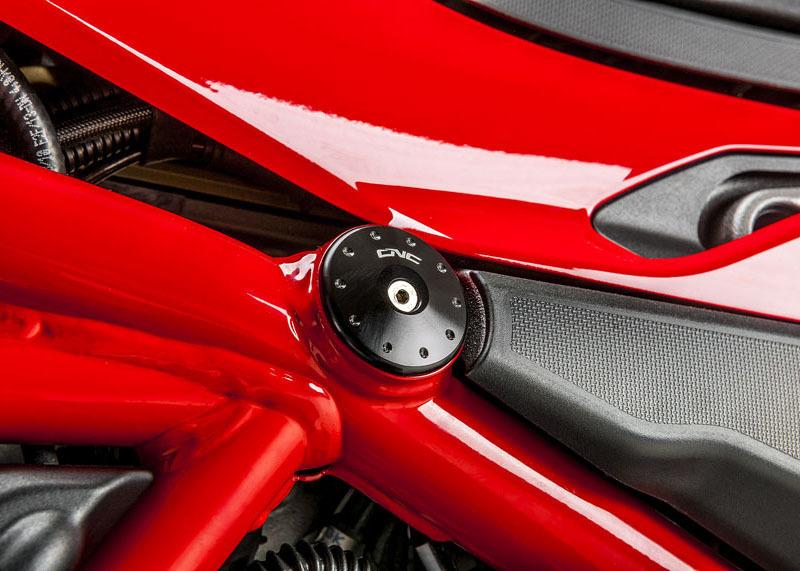 CNC Racing CNCレーシング フレームキャップセット DUCATI Multistrada 1200 2015-16【Frame cap sets Ducati Multistrada 1200 2015-16】 Multistrada 1200 Multistrada 1200S Pikes Peak Multistrada 1200S