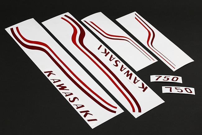 PMC ピーエムシー 転写フィルムグラフィックセット 750SS マッハIV (H2)