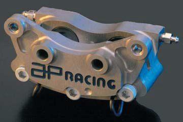 AP Racing APレーシング ツーピース2×2ピストン ブレーキキャリパー