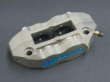 AP Racing APレーシング ツーピース4ピストン ラジアルマウント ブレーキキャリパー