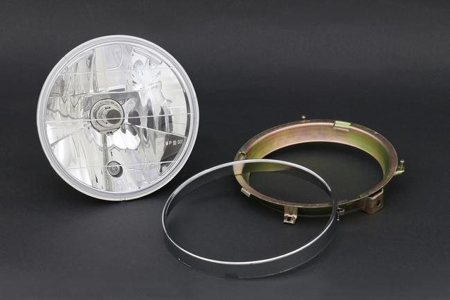 BRIGHTEC ブライテック マルチリフレクターシリーズ ラウンドタイプ ヘッドランプ単体 インナーリム付ヘッドライト対応タイプ ZRX ZRX II ZR-7 ZEPHYR750 [ゼファー] ZEPHYR450 [ゼファー] ZEPHYR ZEPHYR X BALIUS [バリオス] BALIUS [バリオス] II