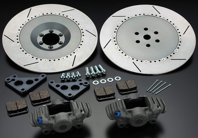 PMC ピーエムシー S1-Type CP2696ブレーキキット Z1 (900SUPER4) Z2 (750RS/Z750FOUR) 750SS マッハIV (H2)