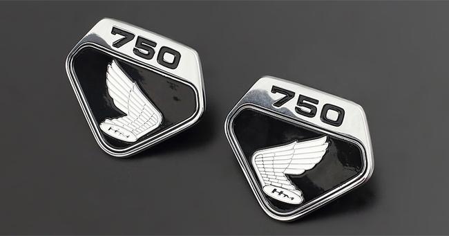 PMC ピーエムシー サイドカバーエンブレム CB750フォア(CB750K)