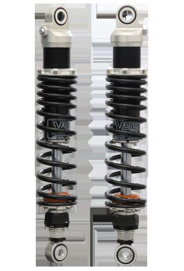 【送料無料】サスペンション R45 YSS ワイエスエス 116-3017101  YSS ワイエスエス リアサスペンション SPORTS LINE リアツインショック 【Zシリーズ】 Z366 スプリングカラー:レッド ボディカラー:シルバー R45
