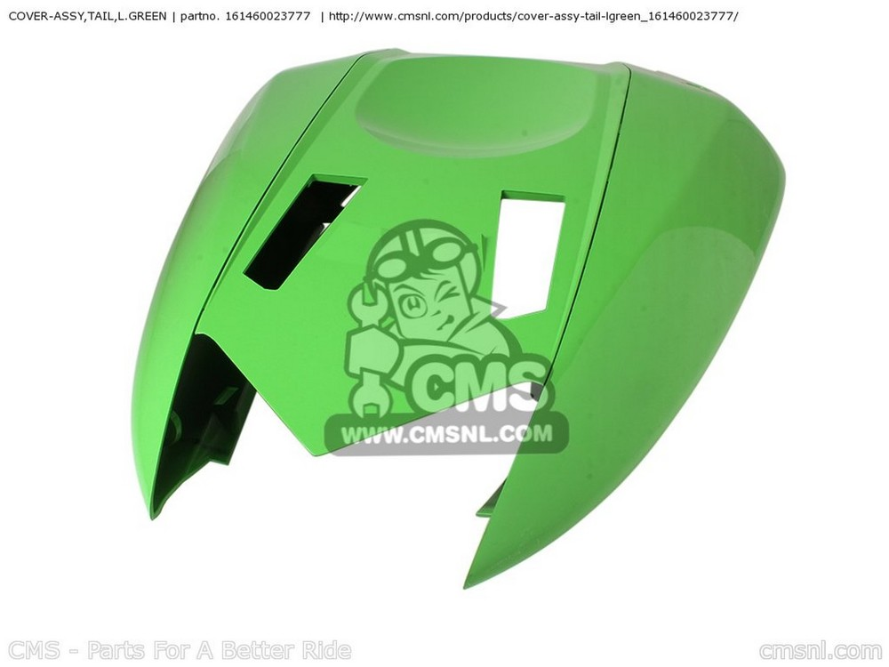 CMS シーエムエス COVER-ASSY,TAIL,L.GRE ZX1000C2 NINJA ZX10R USA CALIFORNIA CANADA